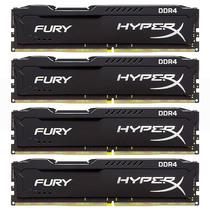金士顿  骇客神条 Fury系列 DDR4 2133 32GB(8GBx4)台式机内存产品图片主图