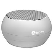 BIAZE DY01 蓝牙音箱 便携式无线音响 插卡音箱 手机音乐播放器 银色