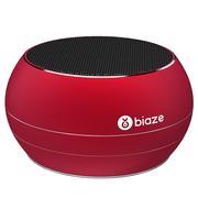 BIAZE DY01 蓝牙音箱 便携式无线音响 插卡音箱 手机音乐播放器 中国红
