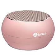 BIAZE DY01 蓝牙音箱 便携式无线音响 插卡音箱 手机音乐播放器 玫瑰金
