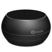 BIAZE DY01 蓝牙音箱 便携式无线音响 插卡音箱 手机音乐播放器 黑色