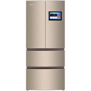 格力 465升变频风冷 智能识别多门冰箱 10.1寸影音大屏 APP远程操控 BCD-465WHPQCRJ 卡其金