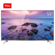 TCL 55P4 55英寸HDR纤薄4K 安卓智能液晶电视金属机身(锖色)