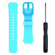 小寻 儿童电话手表S1 表带 食品级硅胶 蓝色