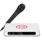 迪优美特 M10唱歌盒子 家用点歌机 K歌看电视高清不卡 智能网络电视机顶盒 安卓迪优魔盒