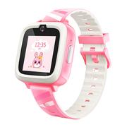 糖猫 搜狗 儿童智能电话手表M2 4G视频通话 智能问答 学生手表手机  蜜桃粉