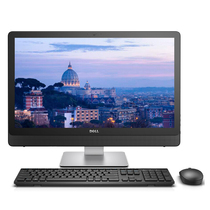 戴尔 成就5460-R2748B 23.8英寸防眩光一体机电脑(i7-7700T 8G 128GSSD+1T 4G独显 无线键鼠)产品图片主图