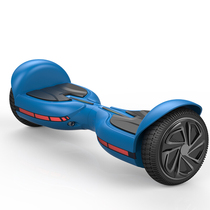 solomini Q1 成人智能双轮电动平衡车思维车体感车代步车迷你自平衡车火星车儿童扭扭车两轮高配蓝色产品图片主图