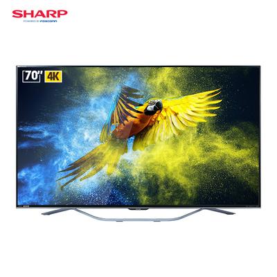 夏普  LCD-70SU861A 70英寸4K超高清 人工智能语音液晶电视产品图片1