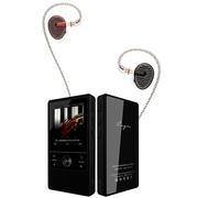 凯音 N3 无损音乐播放器 砚石黑+铜雀 EN700PRO 红蓝CP版(魅力青春套装)