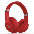 Beats Studio3 Wireless 录音师无线3代 头戴式 蓝牙无线耳机 降噪耳机 游戏耳机 - 红色  含麦克风 MQD02PA/A