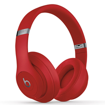 Beats Studio3 Wireless 录音师无线3代 头戴式 蓝牙无线耳机 降噪耳机 游戏耳机 - 红色  含麦克风 MQD02PA/A产品图片主图