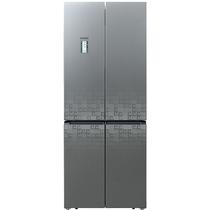 西门子  BCD-452W(KM46FS95TI) 452升 变频混冷无霜 十字对开多门 零度保鲜 玻璃门 (珍珠灰)产品图片主图