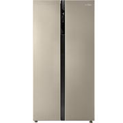 美的  552升 变频智能对开门冰箱 风冷无霜 速冷速冻 电脑控温 BCD-552WKPZM(Q)芙蓉金