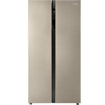 美的  552升 变频智能对开门冰箱 风冷无霜 速冷速冻 电脑控温 BCD-552WKPZM(Q)芙蓉金产品图片主图
