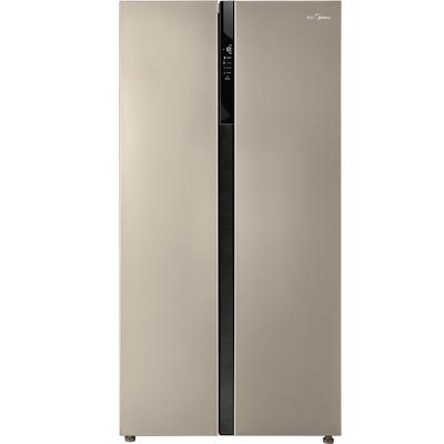 美的  552升 变频智能对开门冰箱 风冷无霜 速冷速冻 电脑控温 BCD-552WKPZM(Q)芙蓉金产品图片1
