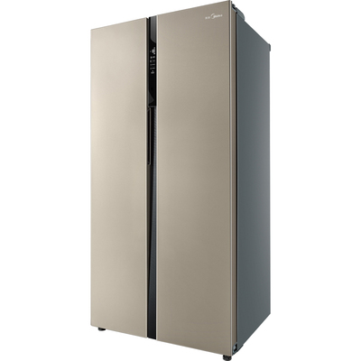 美的  552升 变频智能对开门冰箱 风冷无霜 速冷速冻 电脑控温 BCD-552WKPZM(Q)芙蓉金产品图片3
