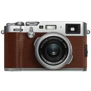 富士 X100F 数码旁轴相机 棕色 人文扫街 2430万像素 混合取景器 复古 WIFI
