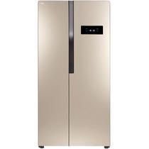 TCL BCD-440WEPZ50 440升 变频风冷无霜对开门冰箱 电脑温控 节能静音(流光金)产品图片主图