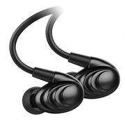 飞傲 F9 SE 普及版 三单元涟漪金属圈铁耳机 黑色
