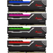 阿斯加特 阿扎赛尔系列 DDR4 2400频率 32G(8Gx4)套装 台式机内存 RGB灯条