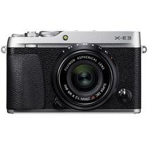 富士 X-E3 XF23 F2 微单电套机 银色 2430万像素 触摸屏 4K视频 蓝牙4.0产品图片主图