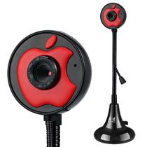 奥速(ASHU) 309 网络摄像头 电脑台式机笔记本摄像头 带话筒 黑色产品图片主图