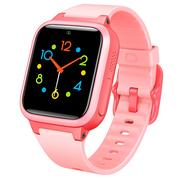 小寻 儿童电话手表 防丢生活防水GPS定位 学生定位手机 智能手表 儿童手机 粉色S1+粉色表带