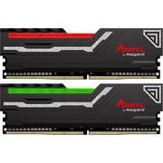 阿斯加特 阿扎赛尔系列 DDR4 2400频率 16G(8Gx2)套装 台式机内存 RGB灯条