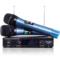 索爱 CK-M53(D) 家用KTV 卡拉OK 电脑K歌 一拖二套装 无线麦克风话筒 双手麦 麦克风产品图片1
