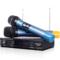 索爱 CK-M53(D) 家用KTV 卡拉OK 电脑K歌 一拖二套装 无线麦克风话筒 双手麦 麦克风产品图片2