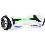 乐控 B6智能双轮电动平衡车思维体感车代步车迷你平衡车火星车扭扭车两轮 精灵炫彩版白色