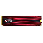 威刚 XPG GAMMIX系列 S10 512GB PCIe Gen3x4 NVMe M.2 2280 带散热片的固态硬盘