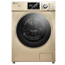 小天鹅  TD100V81WIDG 10公斤洗烘一体 变频滚筒洗衣机 免熨烫烘干 精准自动投放超净洗涤 金色产品图片主图