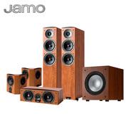 尊宝 C605+C60CEN+C60SUR+J10 音响 音箱 5.1声道木质无源落地式家庭影院 高保真(暗苹果色)