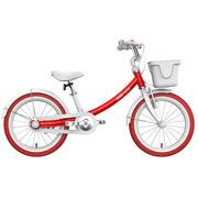 九号 女宝宝儿童自行车小孩脚踏山地车女童单车16寸红色