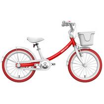 九号 女宝宝儿童自行车小孩脚踏山地车女童单车16寸红色产品图片主图