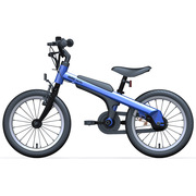 九号 男宝宝儿童自行车小孩脚踏山地车男童单车16寸蓝色