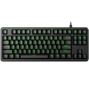 富勒 第九系 G87S 87键原厂 Cherry机械键盘 樱桃轴机械键盘 游戏电竞 绝地求生吃鸡键盘 黑轴 黑色