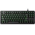 富勒 第九系 G87S 87键原厂 Cherry机械键盘 樱桃轴机械键盘 游戏电竞 绝地求生吃鸡键盘 红轴 黑色