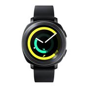 三星 Gear Sport智能手表 安卓苹果IOS 运动手环防水手表 内置独立GPS手表 黑色