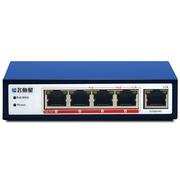 飞鱼星 VS1805FP 5口POE交换机 4口百兆POE供电口 48V标准POE供电 AP供电交换机