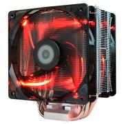 大镰刀 STB120 PLUS Rev.B CPU散热器(支持intel 2011、2066、AMD、AM4平台/12cm温控红光双风扇)