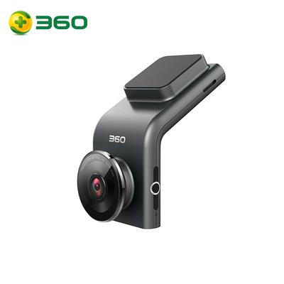 360 行车记录仪 G300 迷你隐藏 高清夜视 无线测速电子狗一体 黑灰色产品图片1