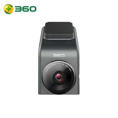 360 行车记录仪 G300 迷你隐藏 高清夜视 无线测速电子狗一体 黑灰色产品图片2