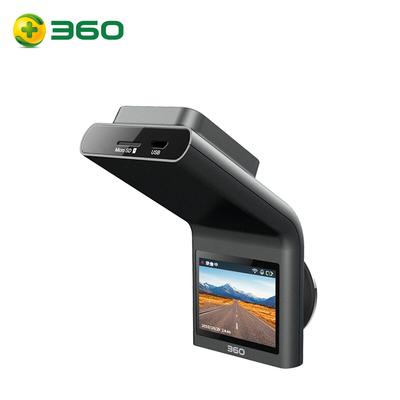 360 行车记录仪 G300 迷你隐藏 高清夜视 无线测速电子狗一体 黑灰色产品图片5