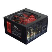 航嘉 额定500W 狼牙500电脑电源(背部走线/主动PFC/静音风扇/宽幅电压/台式机电源)