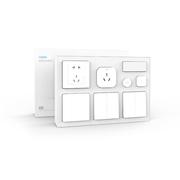 AQARA 智能卧室套装 小米生态链企业 可接入米家app(MIJIA)空调伴侣(网关)+智能开关/插座+人体/温湿度传感器 7件礼品套装
