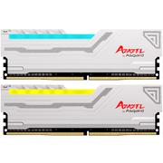 阿斯加特 阿扎赛尔系列 DDR4 2400频率16G(8Gx2)套装 台式机内存 RGB灯条