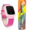 小天才 电话手表Y01 经典版 皮革粉色 儿童智能手表360度安全防护 学生定位手机 儿童电话手表 +硅胶蓝表带产品图片3